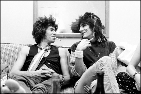 New Barbarians - Keith Richards & Ronnie Wood