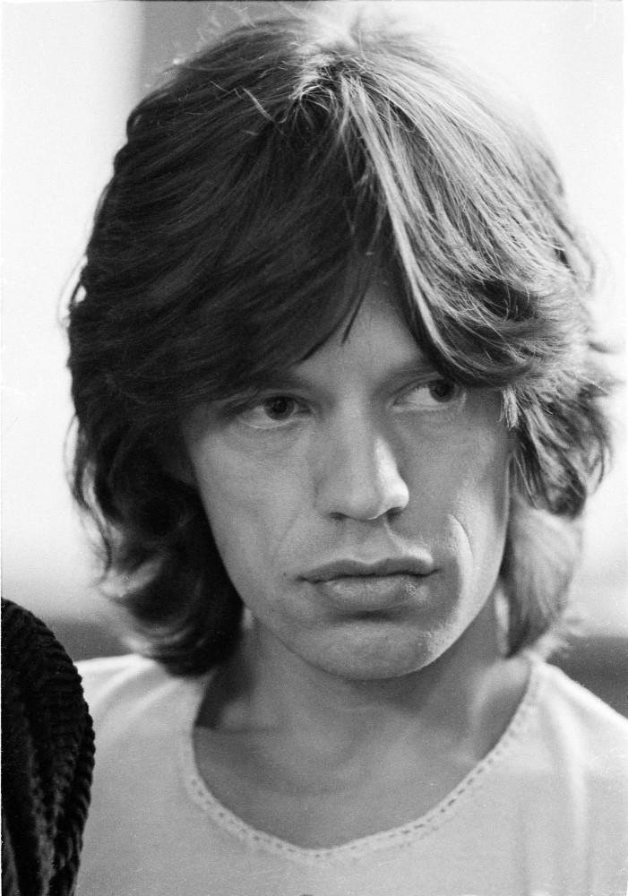 Mick Jagger Michael Putland