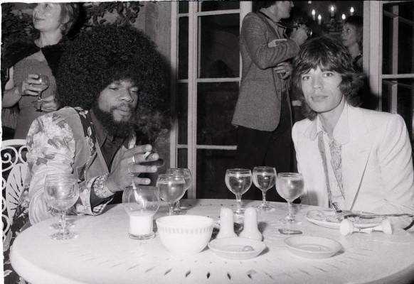 Billy Preston and Mick Jagger