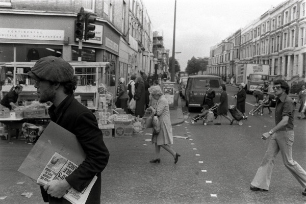 Tom Waits on Portobello Road