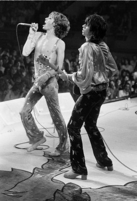 Mick Jagger and Keith Richards
