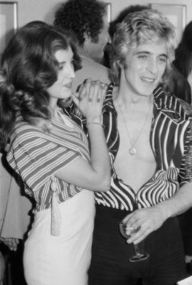Mick Ronson and Suzi Fussey