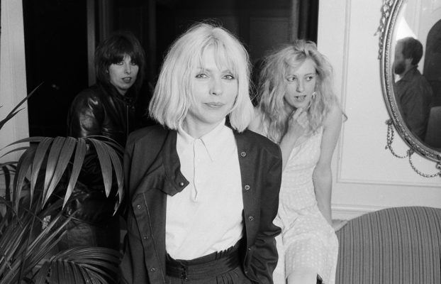 Debbie Harry with Chrissie Hynde and Viv Albertine