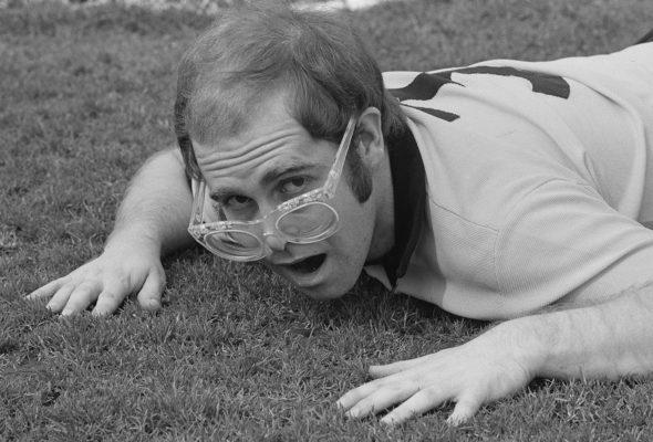 Elton John at Watford