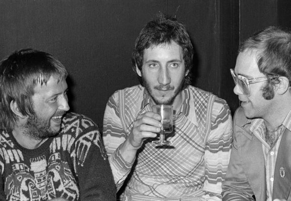 Eric Clapton, Pete Townshend and Elton John